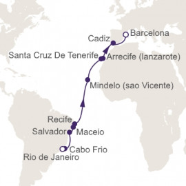 Atlantic Ocean Exploration Itinerary