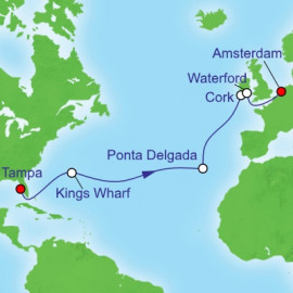 Tampa to Amsterdam Royal Caribbean Cruise
