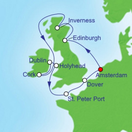 British Isles Royal Caribbean Cruise