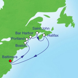 Canada and New England Royal Caribbean Cruise