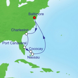 Se Coast and Bahamas Holiday Itinerary