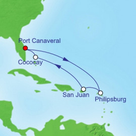 Eastern Caribbean and Perfect Day Itinerary