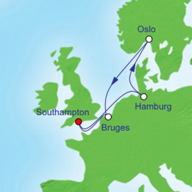 Northern European Cityscapes Itinerary
