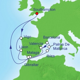 Spanish Mediterranean Royal Caribbean Cruise