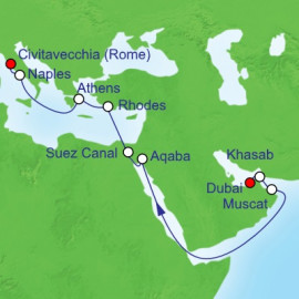 Suez Canal Royal Caribbean Cruise