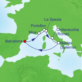 Italy France and Spain Itinerary