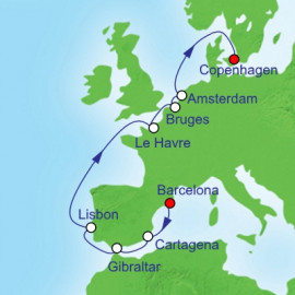 Barcelona To Copenhagen Royal Caribbean Cruise