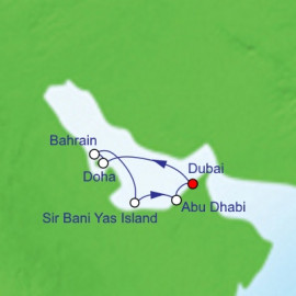 Qatar Bahrain and United Arab Emirates Christmas Itinerary