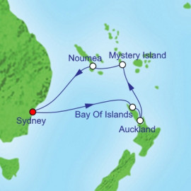 New Zealand and South Pacific Royal Caribbean Cruise