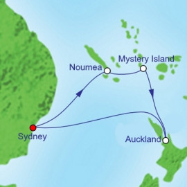 South Pacific and New Zealand Royal Caribbean Cruise