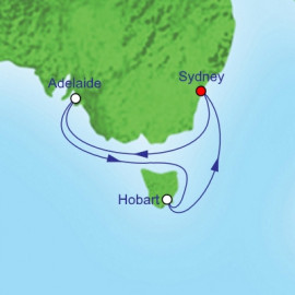 Adelaide and Hobart Itinerary