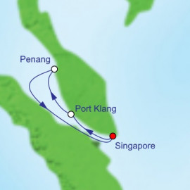 Port Klang and Penang Itinerary