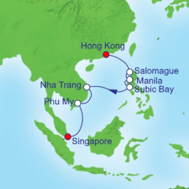 Vietnam and Philippines Royal Caribbean Cruise