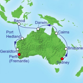 Australia Top End Royal Caribbean Cruise