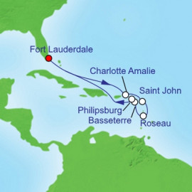 Southern Caribbean Holiday Royal Caribbean Cruise