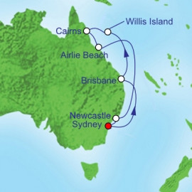 Queensland Royal Caribbean Cruise