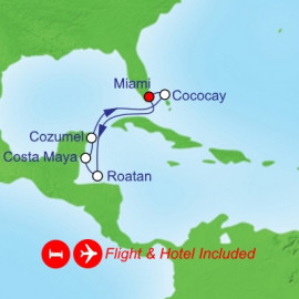 Fly Stay Western Caribbean Itinerary