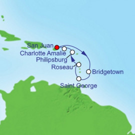 Southern Caribbean New Year Royal Caribbean Cruise