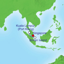 Port Klang and Bintan Island Itinerary