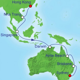 Asia Repositioning Royal Caribbean Cruise