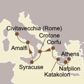 Greek and Italian Jewels Seabourn Cruise