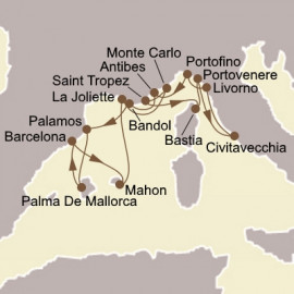 Spain and Romantic Rivieras Seabourn Cruise