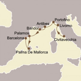 Alluring Italy and Riviera Seabourn Cruise
