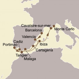 Spanish Magic and Morocco Seabourn Cruise