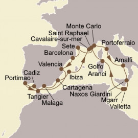 Mediterranean Magic and Malta Seabourn Cruise