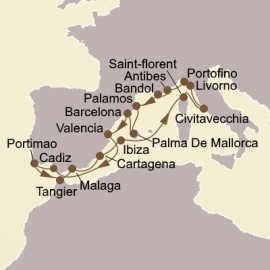 Riviera and Iberian Discoveries Seabourn Cruise