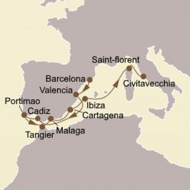 Spanish Autumn and Morocco Seabourn Cruise