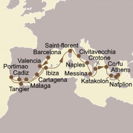 Iberian Gems and Greek Glories Seabourn Cruise