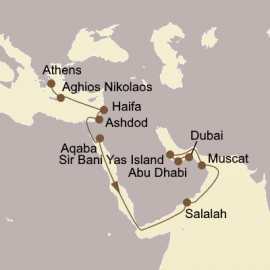 Holy Land and Arabian Gems Seabourn Cruise