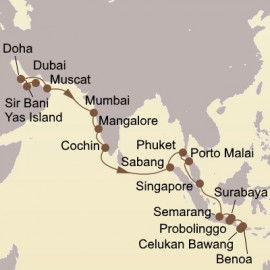 Indian Ocean and Orchid Isles Seabourn Cruise