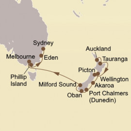 New Zealand and Australia Seabourn Cruise