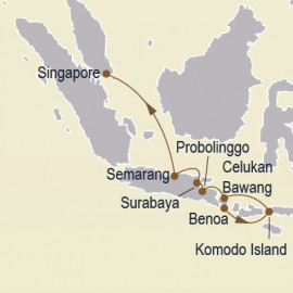 Gems Of The Java Sea Itinerary