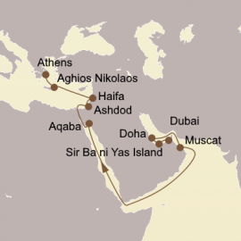 Arabian Gems and Holy Land Seabourn Cruise