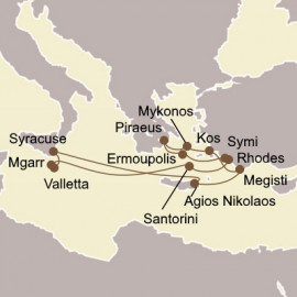Greek Islands Odyssey Itinerary