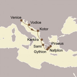 Adriatic and Greek Glories Seabourn Cruise