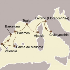 Florence and Spanish Splendours Seabourn Cruise