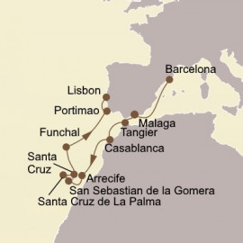 Moroccan Gems and Canary Islands Seabourn Cruise