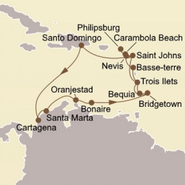Holiday Caribbean Odyssey Seabourn Cruise