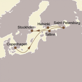 The Baltic and St Petersburg Seabourn Cruise