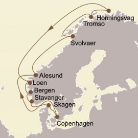 Majestic Fjords and North Cape Seabourn Cruise