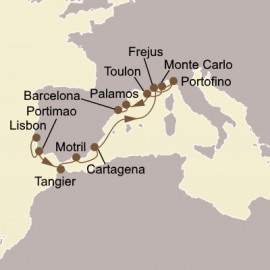 Spain Morocco and The Rivieras Seabourn Cruise