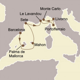 Spanish Isles and Florence Seabourn Cruise