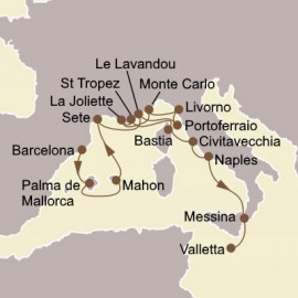 Spanish Splendors and Italian Gems Seabourn Cruise