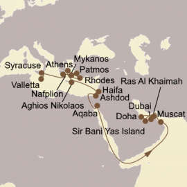 Holy Land and Arabian Adventure Seabourn Cruise