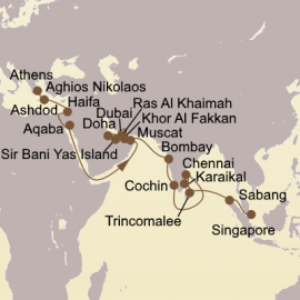 Spice Route Exploration Seabourn Cruise