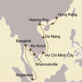 Vietnam and Thailand Seabourn Cruise
